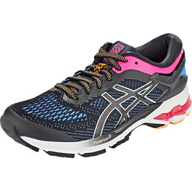 asics Gel-Kayano 26 Chaussures Femme, black/blue coast
